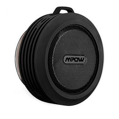 IPX4, 5W haut-parleur Enceinte Hi-fi stereo Mpow Buckler, enceinte portable sans fil Bluetooth etanche, 1000 mAh batterie puissante integree. Enceinte d'exterieur resistant a l'eau, a la poussiere et choc pour iPhone 7 iPhone SE, iPhone 6 6s 6plus 5s 5c @ Amazon.fr